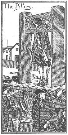 Pillory - Public Ridicule Tragedies and Triumphs Government Social Studies