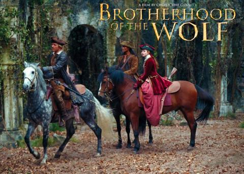 Brotherhood of the Wolf (Illustration) Famous Historical Events Geography Legends and Legendary People World History Fiction Film