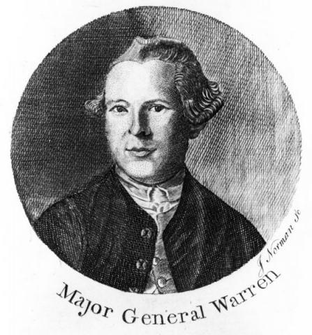 Major General. Joseph Warren