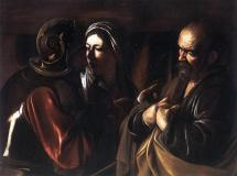Peter's Denial - by Caravaggio