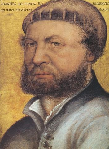 Hans Holbein the Younger - Tudor-Era Artist (Illustration) World History Social Studies Famous People Medieval Times Biographies Visual Arts