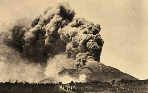 Vesuvius - 1906 Eruption Geography World History Famous Historical Events Disasters