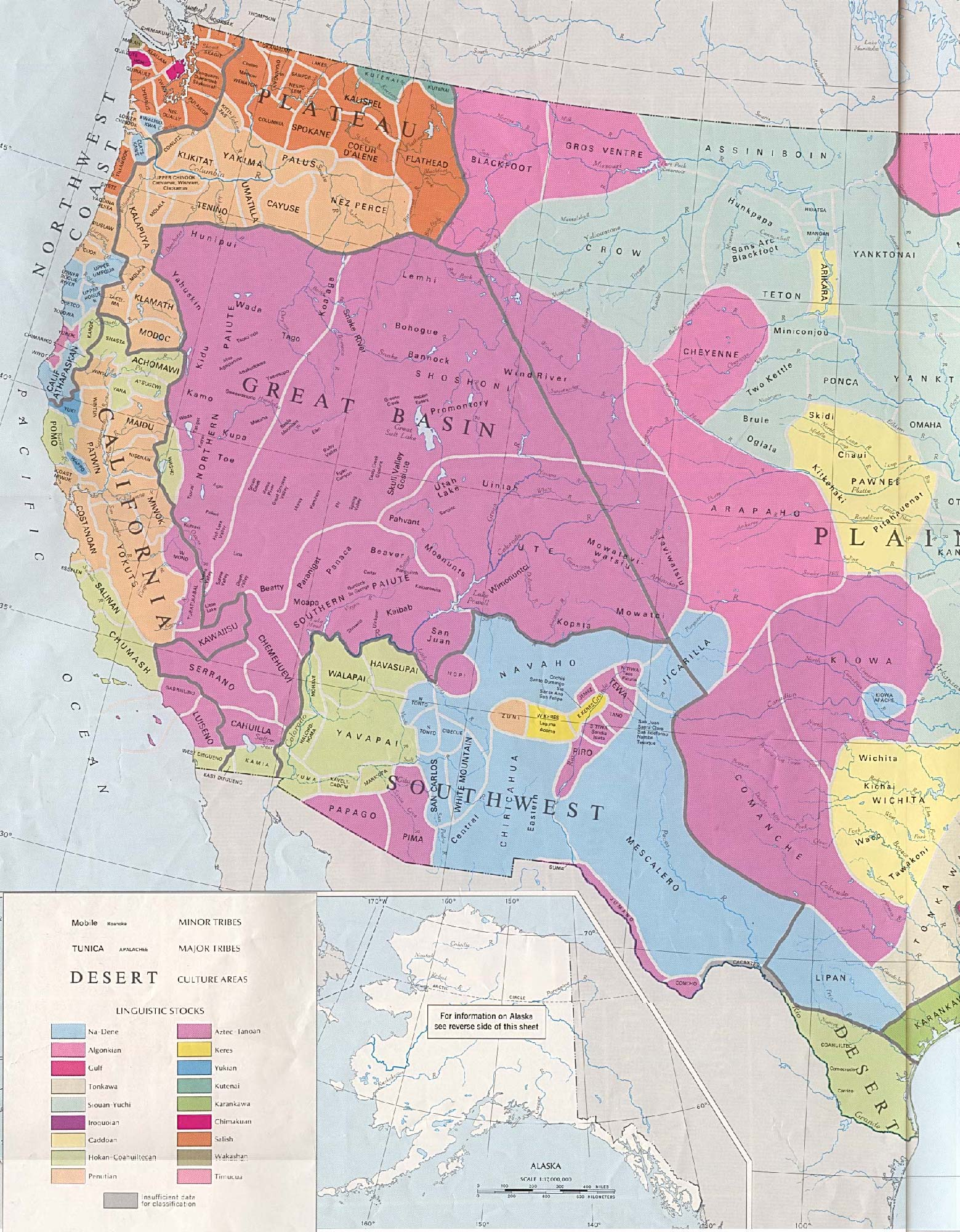 Map Depicting NativeAmerican Lands In The US - Us native american map