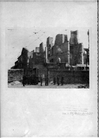 Stroop Photos - Warsaw Ghetto Destroyed Tragedies and Triumphs Disasters Famous Historical Events World History World War II