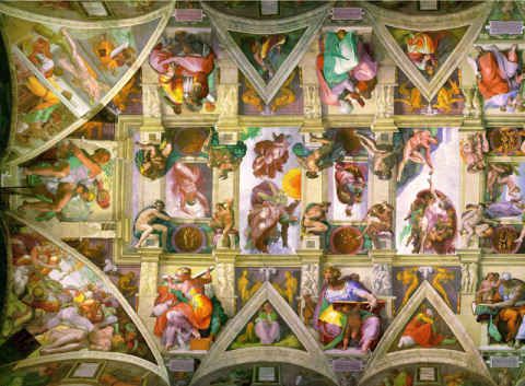 SISTINE CHAPEL and the VATICAN SCAVI (Illustration) Ancient Places and/or Civilizations Film Geography Philosophy STEM Visual Arts Fiction