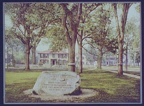 Buckman Tavern and Lexington Green