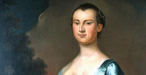 Martha Custis Washington-Image and Brief Bio