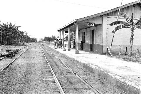 Capas Train Station - Bataan Prisoners of War American History Famous Historical Events Geography Social Studies World War II Disasters