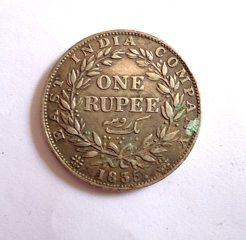 1 Rupee East India Company