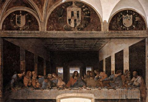 Last Supper - By Leonardo da Vinci Philosophy Visual Arts Tragedies and Triumphs