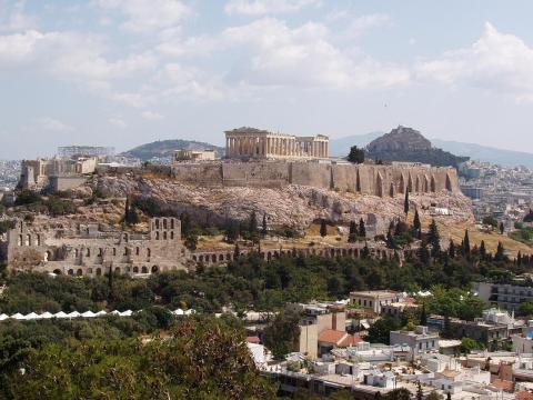 Acropolis in Athens Visual Arts Disasters Ancient Places and/or Civilizations Archeological Wonders Geography Social Studies World History