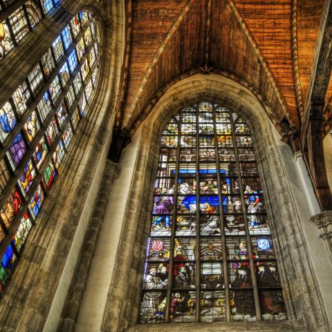 Amsterdam - Wooden Vaults and Stained Glass Medieval Times Philosophy Geography Visual Arts