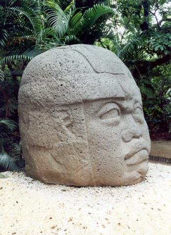 Olmec Head - San Lorenzo Ancient Places and/or Civilizations Geography Social Studies World History Archeological Wonders