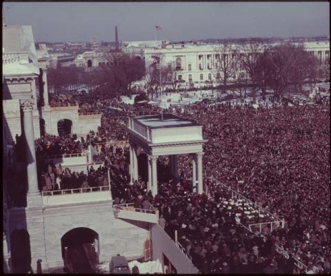 President Johnson's 1965 Inauguration American History Famous Historical Events Famous People Social Studies American Presidents