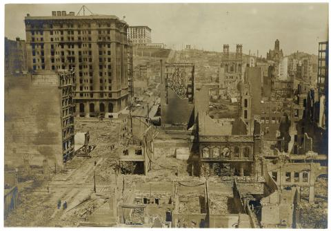 San Francisco Earthquake of 1906 - Preview Image