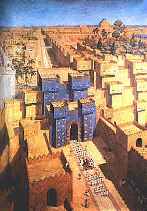 View of Ancient Babylon