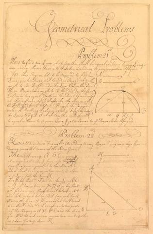 Page from George Washington�s School Copybook
