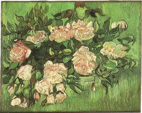 Pink Roses - June, 1890 Famous People Social Studies Visual Arts Nineteenth Century Life