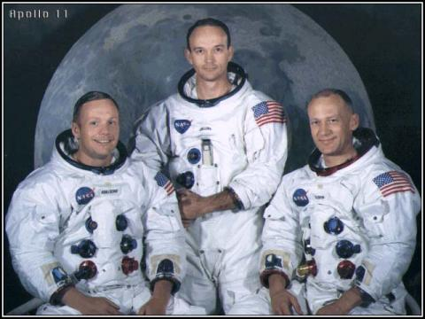 Apollo 11 - Crew Photo Biographies Famous Historical Events Famous People Social Studies Aviation & Space Exploration STEM American History