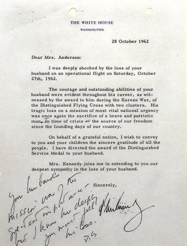 oxford income letter jfk letter to widow of major 25268