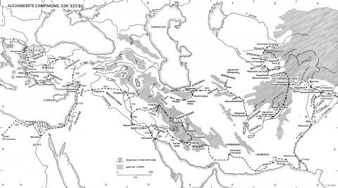 Alexander the Great - Campaigns Ancient Places and/or Civilizations Geography Legends and Legendary People World History