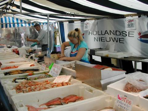 Fish Market - Leiden World History Geography