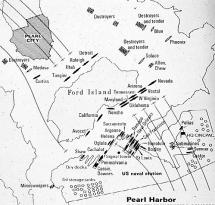 U.S. Fleet at Pearl Harbor - Layout