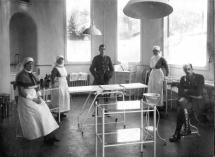 Plastic Theatre at Queen Mary's Hospital - WWI