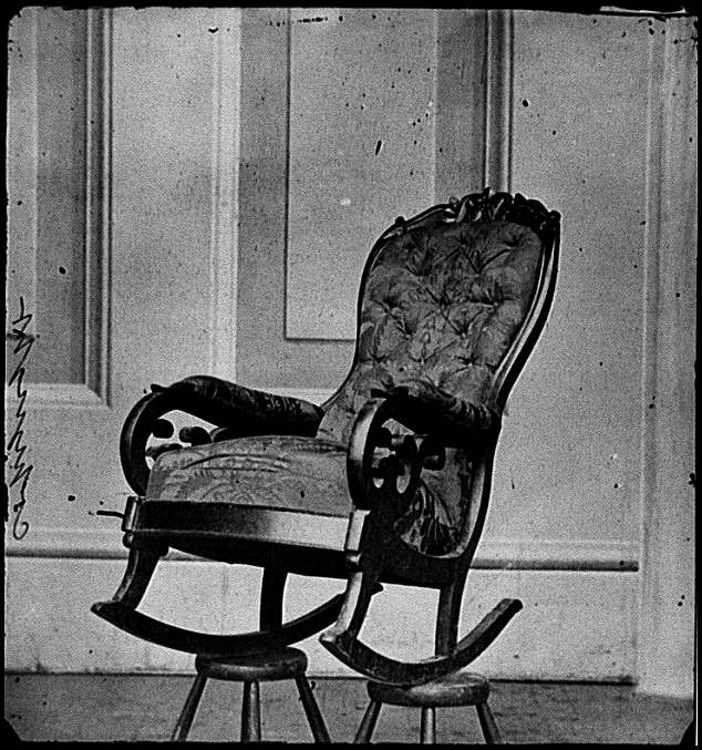 Rocking Chair Lincoln Used at Time of Assassination American History Assassinations American Presidents  sc 1 st  AwesomeStories & Rocking Chair Lincoln Used at Time of Assassination