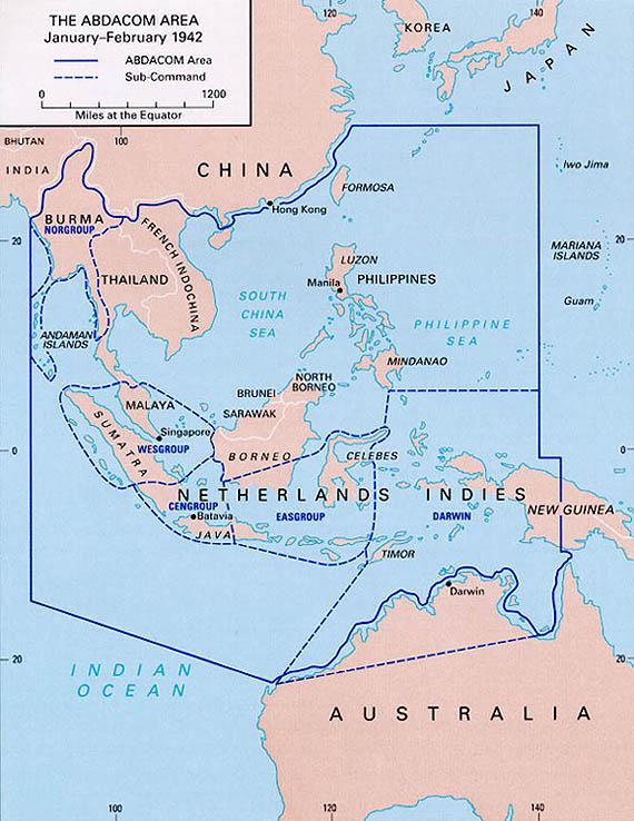 Map Of Malay Region