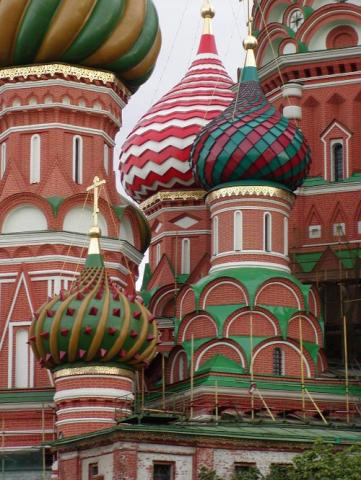 Sanctuary of Basil the Blessed - St. Basil's Cathedral Social Studies World History Russian Studies Philosophy Visual Arts