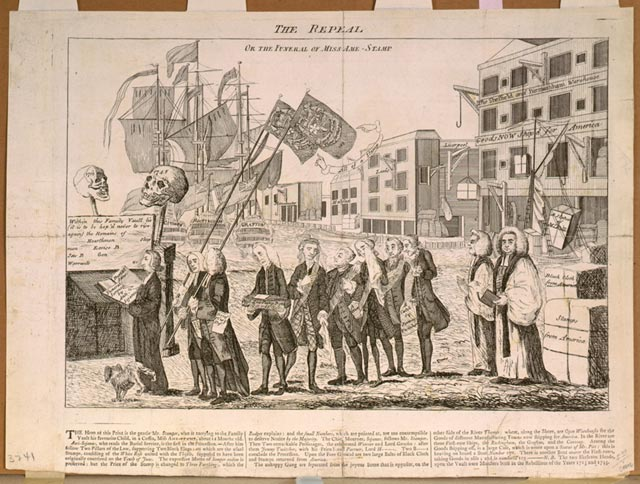 Repeal of the Stamp Act - Awesome Stories