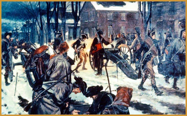an introduction to the history of the battle of trenton in 1776 Fought on 26 december 1776, the battle of trenton was a small but significant battle in the american revolution at a time when the forces of independence were on the retreat, it helped to restore morale and faith in the revolutionary cause.