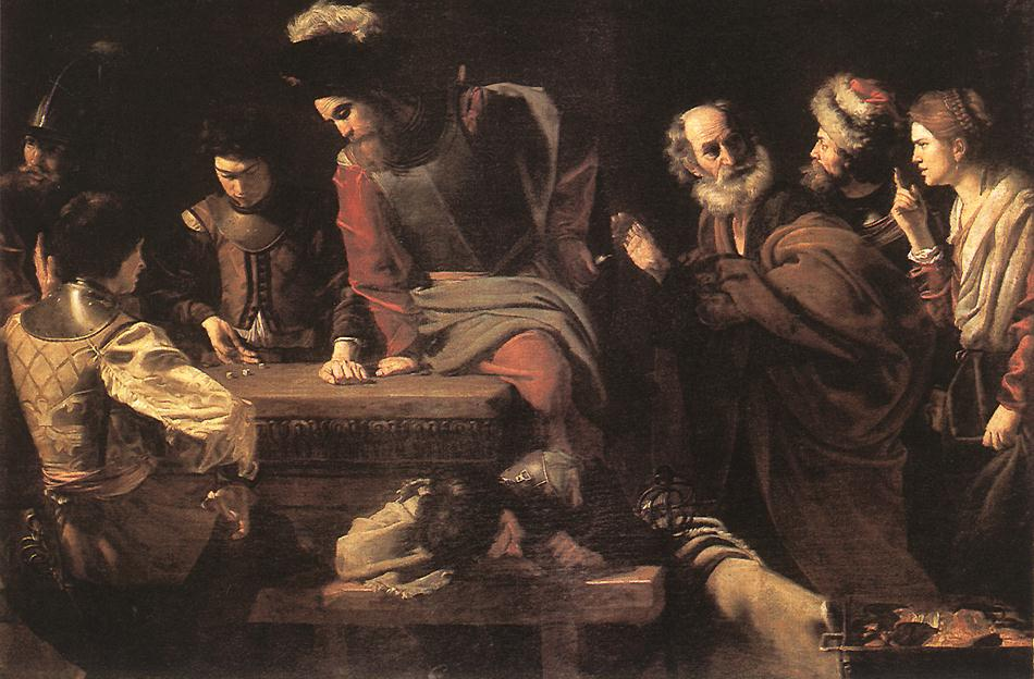 List of paintings by Valentin de Boulogne