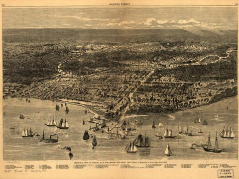 Chicago in 1871 - Before the Great Fire American History Social Studies Nineteenth Century Life Tragedies and Triumphs