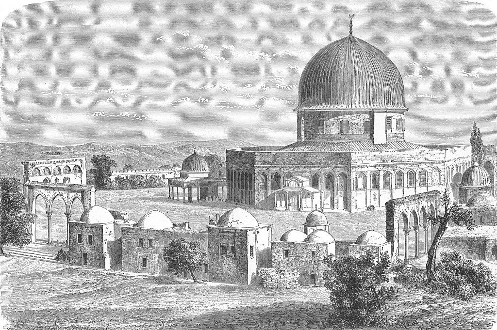 Line Art Jerusalem : Jerusalem