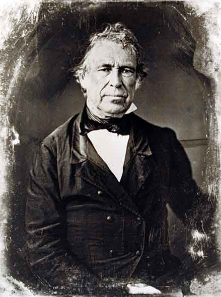 portrait photograph of President Zachary Taylor  the 12th president    Zachary Taylor President