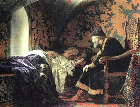 Ivan the Terrible - Admiring His Wife Biographies Famous People Social Studies World History Visual Arts