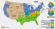 1860 Presidential Election - Popular, Electoral Votes
