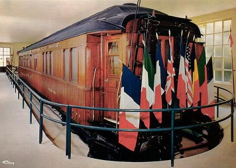 Armistice Railway Carriage - 1918 and 1940 World War II Social Studies Famous Historical Events Film Law and Politics World History World War I