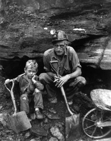 CHILD MINERS - THEN and NOW (Illustration) Geography Social Studies STEM Victorian Age Nineteenth Century Life Fiction Ethics Film