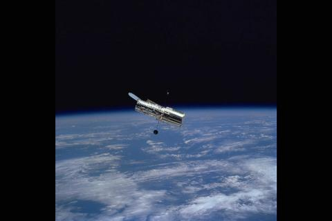 Hubble - Its Working-State Configuration Astronomy American History Aviation & Space Exploration STEM Visual Arts