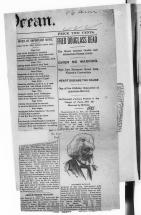 End of Frederick Douglass' Life - News Article