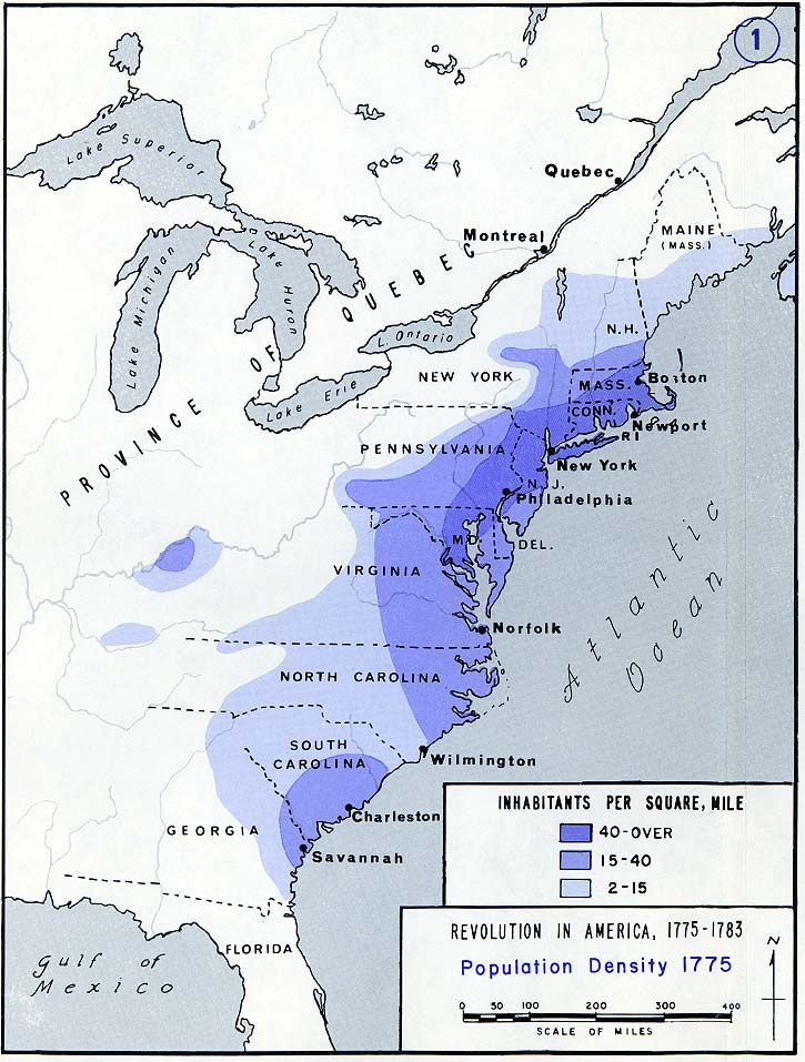 Thirteen Colonies  Map