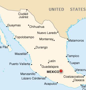 Mexico City - Map Locator