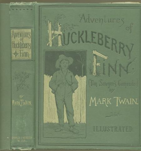 Adventures of Huckleberry Finn Nineteenth Century Life Education Fiction Visual Arts
