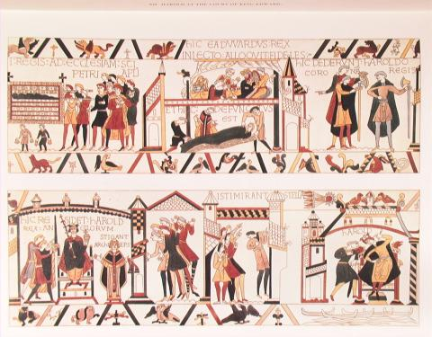 Bayeux Tapestry - Isti Mirant Stella Panel World History Medieval Times Visual Arts Famous Historical Events Social Studies