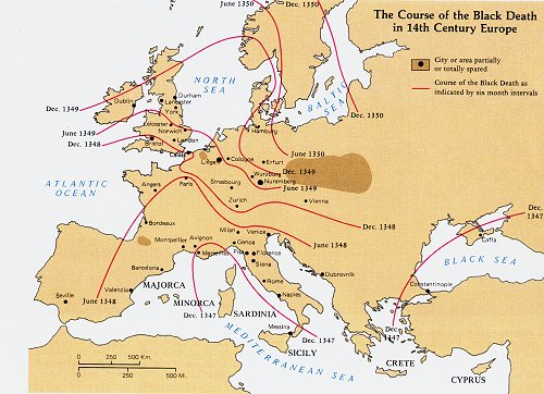Trade routes in the 14th century trade routes in the 14th century disasters medieval times social studies world history geography gumiabroncs Image collections