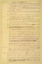 Declaration of Independence - 3rd Page of Original Draft