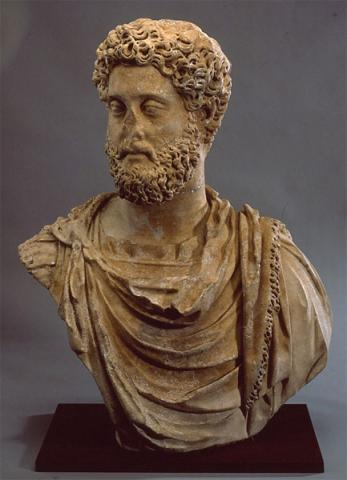Commodus - Bust of the Roman Emperor Visual Arts Ancient Places and/or Civilizations Biographies Film Philosophy Legends and Legendary People